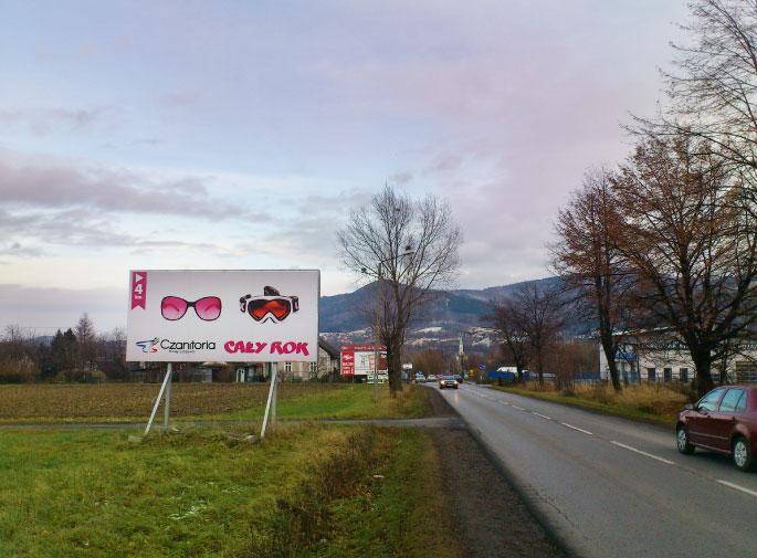 Billboard dla KL Czantoria